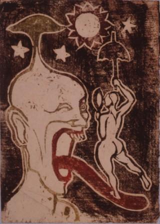 谷中安規 妄想(F) 1925年頃
