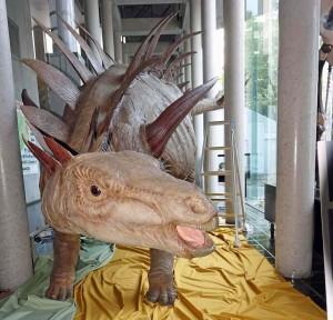 s-ゥオジアンゴサウルス展示状況160620-2