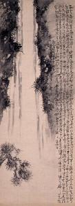 s-原蓬山「瀑布図」