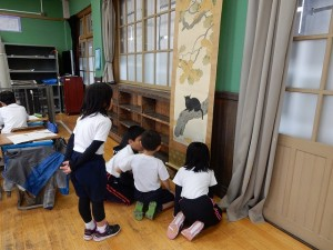 s-追手町小学校鑑賞授業「黒き猫」