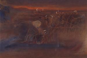 仲村進《落日の時》1981-2
