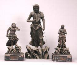 不動明王及二童子像(個人蔵)