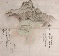 白山寺寺領絵図(個人像)