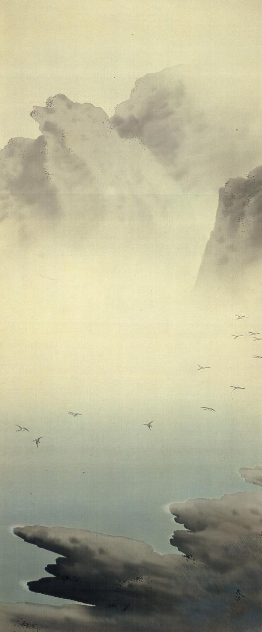 写真(右)春草M35・湖辺飛雁300