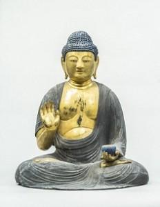薬師如来坐像(重要美術品) 保延6年(1140 )飯田市・光明寺蔵