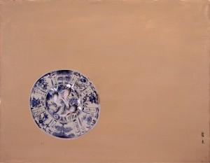 s-関龍夫「染付の大皿」